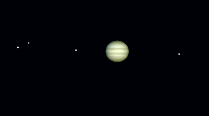 jupiter et satellites